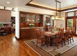 Photo 1 Of 8 Craftsman Chandelier Dining Room With Custom Cabinetry Style