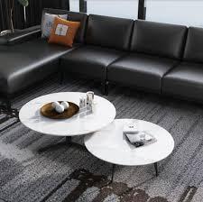 runde set 2x couchtisch kaffeetisch beistelltisch designer wohnzimmer tische neu