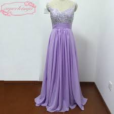 online get cheap maid of honor purple dresses aliexpress com