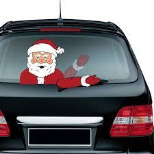 100 Back Window Decals For Trucks Amazoncom Christmas Windshield Sticker Waving Arm Santa Claus