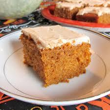 Pumpkin Cake Paula Deen by Frosted Pumpkin Bars With Spiced Buttercream Dairy Free Recipe