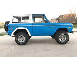 8 Things To Consider When Buying A Classic Ford Bronco | Maxlider ...