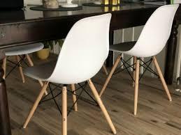stuhl esszimmerstühle weiß holz skandinavisch 4 stk reserviert