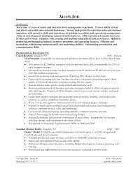 Resume Image Of Printable Real Estate Examples