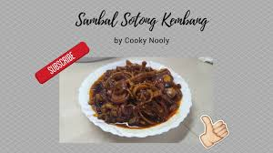 cuisine cooky cooky nooly how to cook prepare sambal sotong kembang