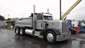 100 Peterbilt Tri Axle Dump Trucks For Sale SOLD Truck 359 15 Yard Box Cummins 400 HP Diesel 13