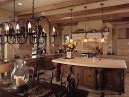 Tuscan Home Decor Ideas For With Traditional Kitchen Cabinet
