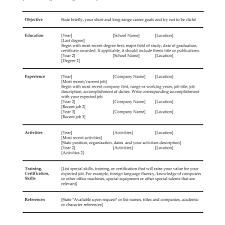 Sample Scholarship Resume Resume