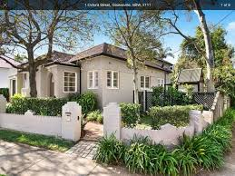 100 Gladesville Houses For Sale Brown Roof Black Gutters Light Render And White Windows