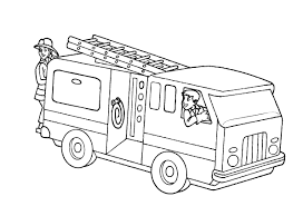 Draw Fire Truck Coloring Page 82 About Remodel Free Book With