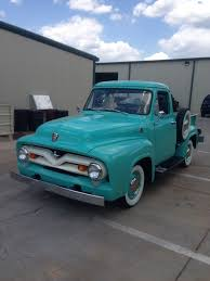 1955 Ford Truck Tiffany Blue.. Love This Color | Pickups, Panel ...