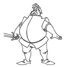 Sir Ector Knights And Castle Coloring Sheet Printable