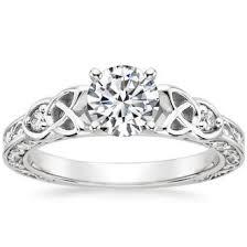 18K White Gold ABERDEEN DIAMOND RING