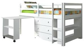Low Loft Bed With Desk Underneath by White Low Loft Bed U2013 Act4 Com