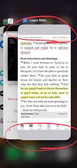 Update to iPhone X Screen Resolution on Logos App Logos Bible