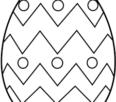 Easter Egg Coloring Pages Free Eggs Printable For Adults Preschool Image