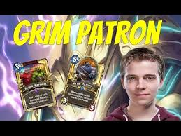Warrior Hearthstone Deck Grim Patron by Thijs Grim Patron Blood Warrior Hearthstone Youtube