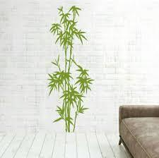 details zu wandtattoo bambus schilf strauch wandtattoo wohnzimmer strauch pflanzen pk274