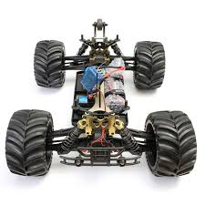 Jlb 2.4g Racing Cheetah 1/10 Brushless Rc Car Monster Buggy 80a ...