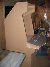 Arcade Cabinet Plans Metric by Build An Arcade Cabinet Plans Redwood Woodworking Projects