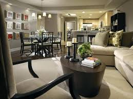 Living Room And Dining Combined Combo Decorating Ideas Inspiring Nifty Small