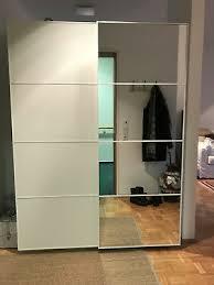 ikea pax schrank schiebetüren spiegel einseitig