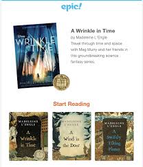 Epic! Kids Books - Wrinkle In Time Collection Added + Coupons ...