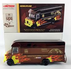 Action 2001 UPS Flame Van Color Chrome 1 32 Scale We Want To Race ...