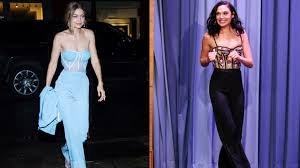 100 Mim Design Couture Gigi Hadid And Gal Gadot Are Spicing Up The Pantsuit Vanity Fair
