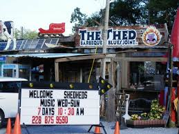 the shed picture of the shed barbeque blues joint ocean