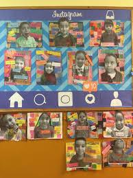 Kindergarten Pumpkin Patch Bulletin Board by Instagram Bulletin Board By Ms Lydie Kindergarten Selfies Art