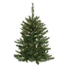 Artificial Douglas Fir Christmas Tree by Artificial Christmas Trees Unlit Wall Artificial Christmas Trees