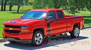 100 Chevy Special Edition Trucks 20162018 Silverado Door Stripes Flow