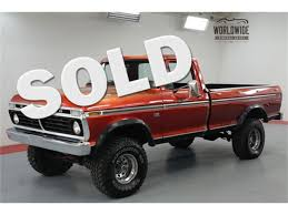 100 1974 Ford Truck F100 For Sale ClassicCarscom CC1140808
