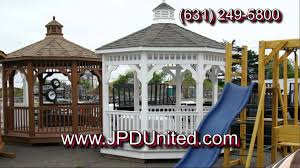 Video 22 Gazebo 1 White Gazebo JPD United Farmingdale New