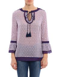 gwenna silk blend blouse by tory burch blouses ikrix