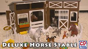Deluxe Horse Stable Play Set From CP Toys - YouTube Saddle Up With The Sleich Horse Club Riding Centre The Toy Insider Grand Stable Barn Corral Amazoncom Melissa Doug Fold And Go Wooden Ikea Hack Knagglig Crate For Horses Best Farm Toys Photos 2017 Blue Maize Breyer Stablemates Red Set Kids Ebay Life In Skunk Hollow Calebs Model How To Make Stall Dividers A Box Toy Horse Barns Sale Ideas Classics Country Wash Walmartcom Kid Friendly Youtube Traditional Deluxe Wood Cupola