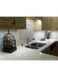 Rittenhouse Square Beveled Subway Tile by Almond Glossy Beveled Subway 3x6 Glossy Subway Wallandtile Com