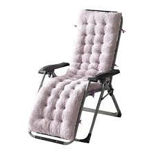 Zero Gravity Reclining Lounge Chair Leisure Seat Chaise Cushion Rocking  Chair Cushion Padded Seat Cushion Rattan Chair Cushion Sofa Cushion Tatami  Mat ...