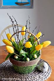 Make This EASY Tulip Arrangement In A Basket