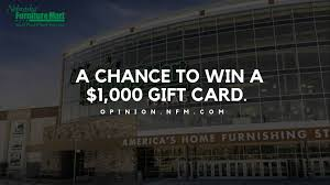 Opinion.nfm.com | Enter Sweepstake & Win $1000 Nfm Gift Card Vapor Authority Coupon May 2019 Shop Music Today Promo Code Nebraska Fniture Delivery Nebraska Fniture Mart Appliance Repair Vincenzosvacom Premium Mart Coupon Code For Shopping Coupon Wusoftwarehackco Best Home Design Ideas With Nfm Nerd Merch Discount Still Ckin Apply For Oyster Card Mac Cosmetic Uk