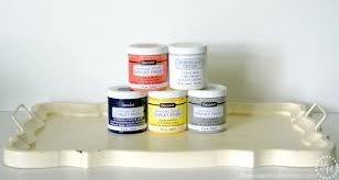 Americana Decor Chalky Finish Paint Colors by Monogram Tray The Scrap Shoppe