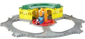 thomas and friends take n play tidmouth sheds turntable track kids