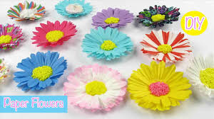 Hgtvrhhgtvcom Easy Paper Craft Work For Home Decoration Diy Dahlias Flowers Bouquet Guldasta