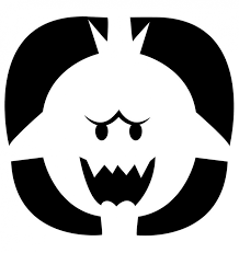 Pumpkin Carving Cutouts by Nintendo Releases Official Pumpkin Carving Stencils