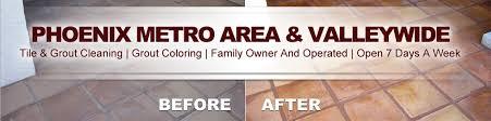 clean restore your brick tile desert tile grout care