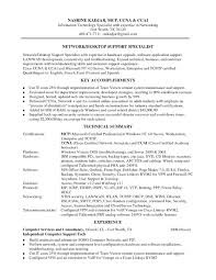 Resume Profile Examples For Server Lovely Network Engineer