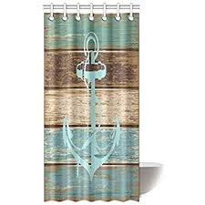 Amazon Blue Shower Curtain Nautical Decor by Ambesonne Boat