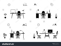 Office Workspace Interior Black White Set Stock Vector ... 3d Empty Chairs Table Conference Meeting Room 10651300 Types Of Fniture Useful Names With Pictures 7 Stiftung Excellent Deutschland Black Clipart Meeting Room Board Or Hall With Stock Vector Amusing Adalah Clubhouse Con Round Silver Cherryman 48 X 192 Expandable Retrack Boss Peoplesitngjobcversationclip Cartoontable Table Office Fniture Clip Art Round Fnituconference Meetings Office