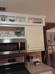 Kitchen Cabinet Soffit Ideas by Update From Outdated Soffits To Usable Space Hometalk
